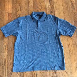 NWT Mens Claiborne polo style shirt. Size L